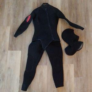 SAS Women's Titanium 2-Piece Custom Wetsuit